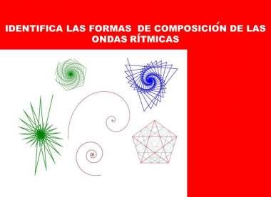 Epirales lograritmicas y pentagrama